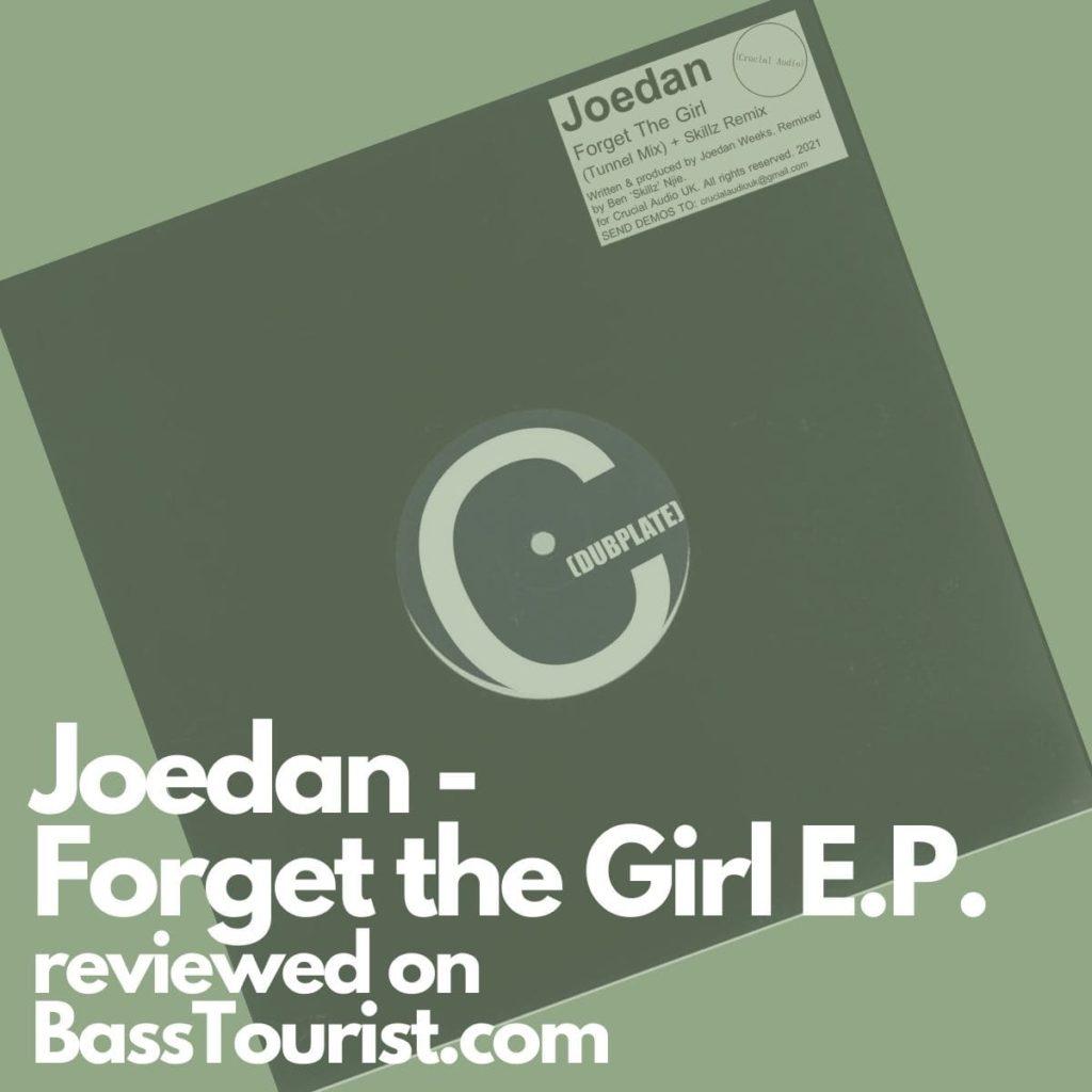 Joedan - Forget the Girl E.P.