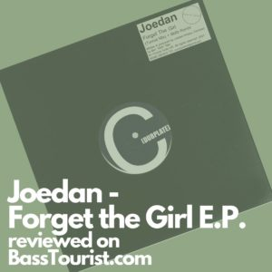 Joedan - Forget the Girl E.P.