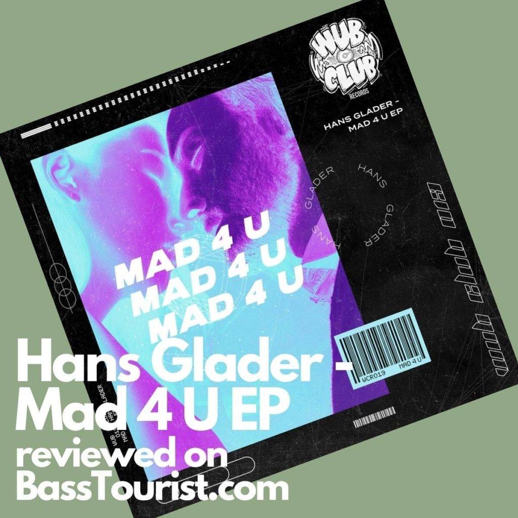 Hans Glader - Mad 4 U EP